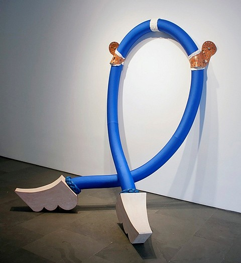Nancy Davidson, RowdyAnn 2012, fabric, foam, wood, plastic, metal