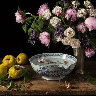 Paulette Tavormina, Flowers, Fish & Fantasies III 2013, archival digital pigment print