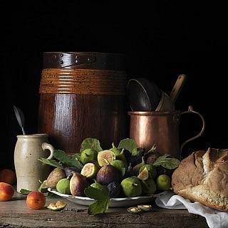 Paulette Tavormina, Figs and Apricots, After L.M. 2014, archival digital pigment print