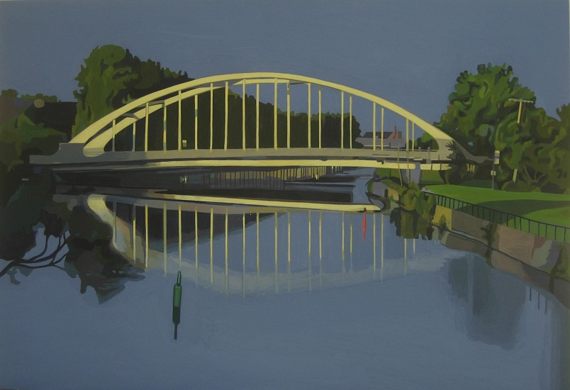 Michael Merrill, Bridge 2013, Flashe/panel