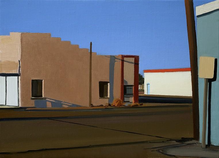 Christopher Benson, Roswell 2 2013, oil on linen