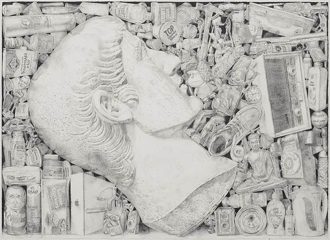 Jairo Alfonso, 174 2015, watercolor pencil on paper