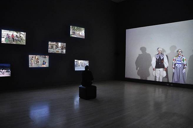 Aziz + Cucher, Aporia, Pure and Simple 2012, 7-channel video installation (installed at the Indianapolis Museum of Art)