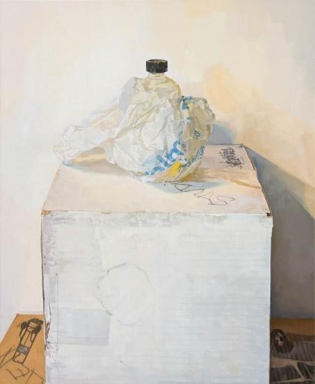 Brett Eberhardt, Leaking Linseed Bottle 2015, oil on panel