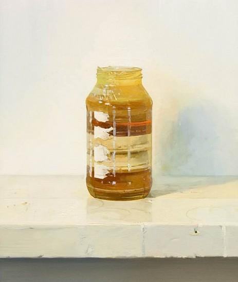 Brett Eberhardt, A History of Painting 2011, oil on panel