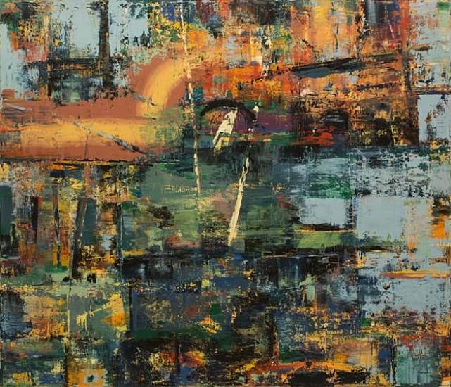 Tom Ferrara, Generator 2007, acrylic on canvas