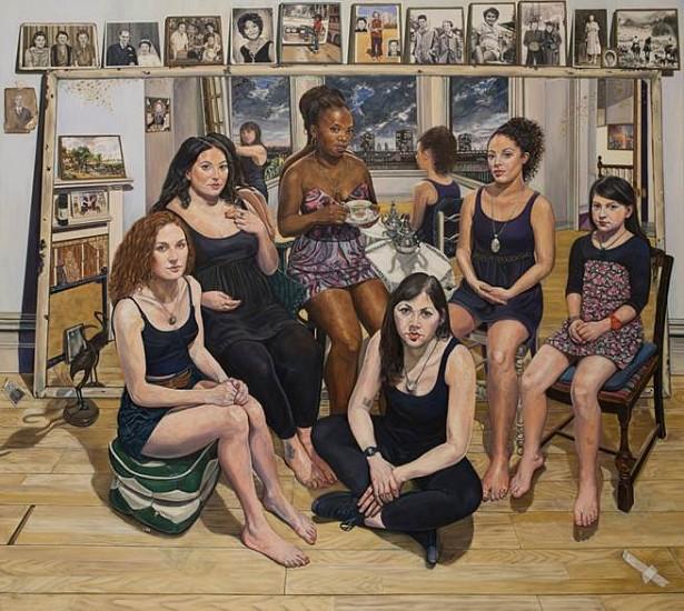 Wendy Elia, Peppi 2013, oil on canvas