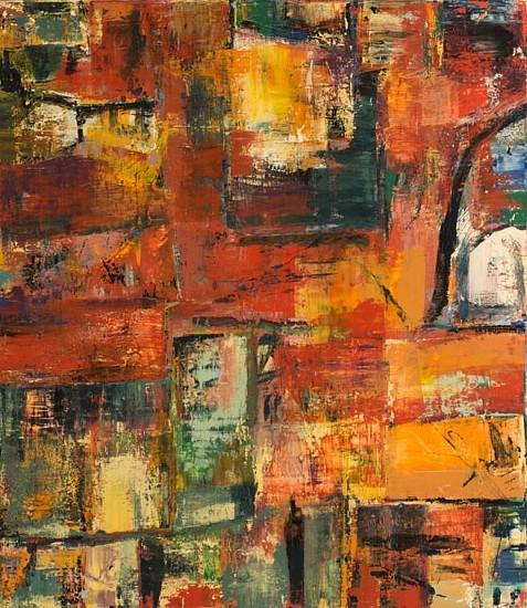 Tom Ferrara, Superstition 2006, acrylic on canvas