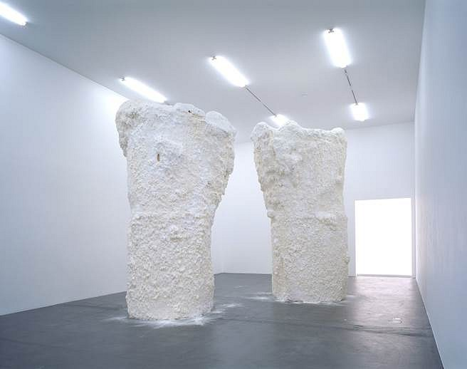 Terence Koh, zurich kunsthalle 2011, mixed media