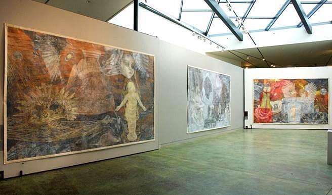 Ann McCoy, Installation at Putney Gallery 2010, installation