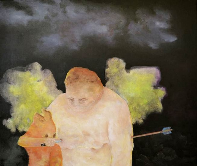 Eva Noack, Resistant 2015, oil on canvas