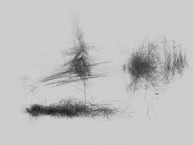 Morgan O'Hara, Tilbury Sanders Edwards 2nd Set 2014, graphite on Fabriano print paper