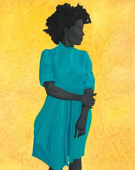 Amy Sherald, Saint Woman 2015, oil on canvas